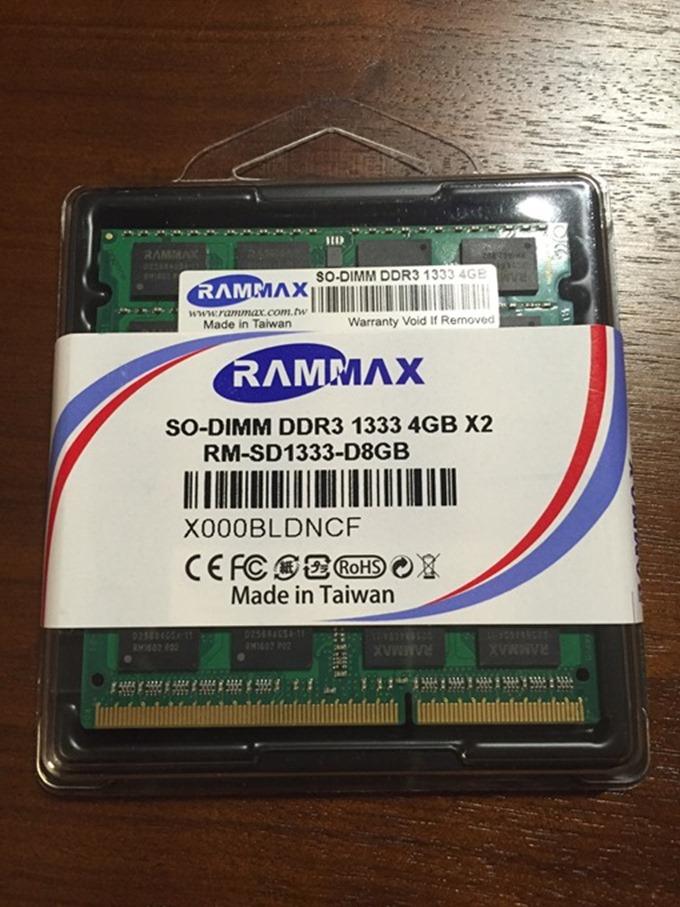 ThinkPad x201s メモリ増設4GBから8GBへ