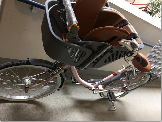 丸石サイクル [子供乗せ自転車 ふらっか~ずスティーナ]購入