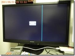 PCモニターRDT231WLM-D故障3回目