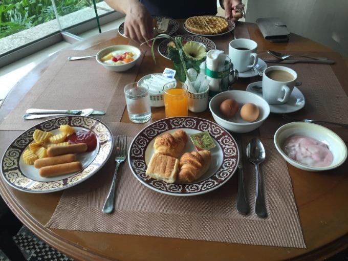 タイでの朝食