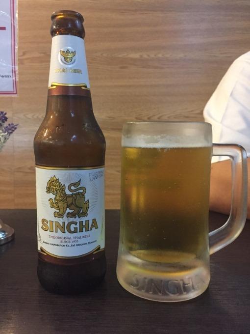 タイでの晩飯
